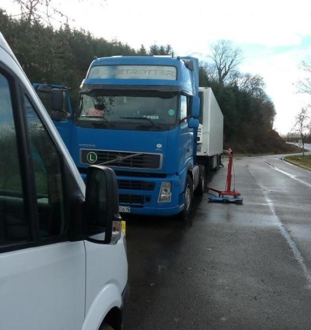 serwis TIR na drodze Francja