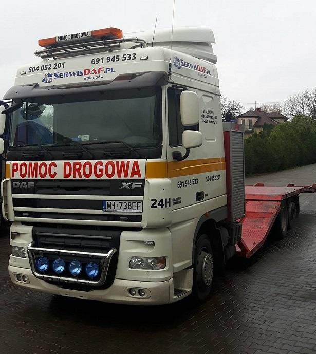 laweta ciężarowe Warszawa